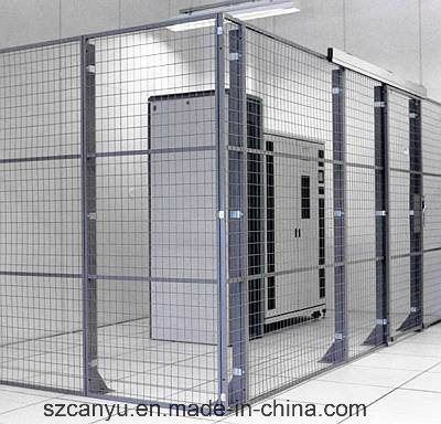 Security Fencing Long Movable with Wheels Wire Mesh Workshop Partition pictures & photos
