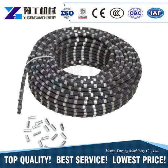China Hydraulic Diamond Wire Saw Cutting Stone Concrete Machine on ...