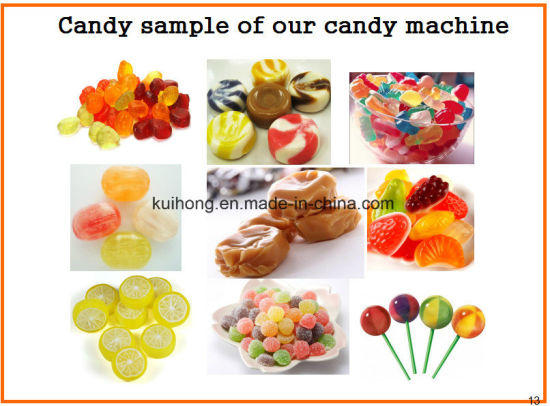 Kh-150/450 Ce Approved Gummy Bear Candy Making Machine pictures & photos