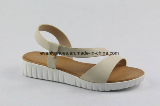 New Arrival Lovely Flat Sandal Lady Shoes for Summer pictures & photos