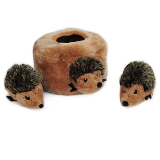 Plush Squirrel Squeaky Hide and Seek Dog Toy Pet Toy pictures & photos