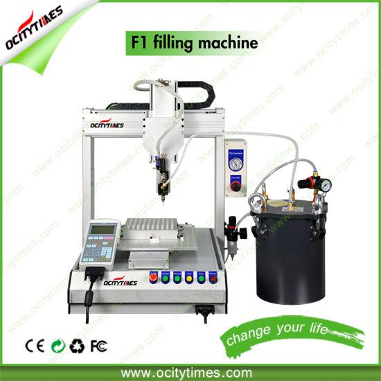 Semi Automatic F1 Liquid Oil Bottle Capsule Filling Machine