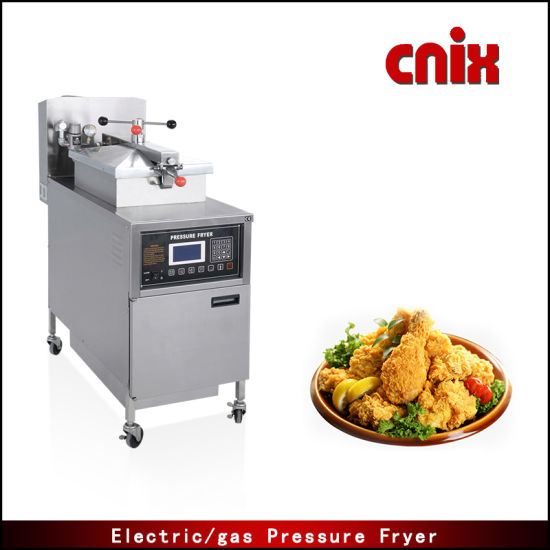 Cnix Factory Price Electric Chicken Pressure Fryer