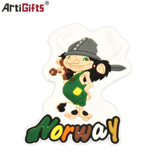 Latest Design Norway Cartoon Character Soft PVC Fridge Magnet pictures & photos