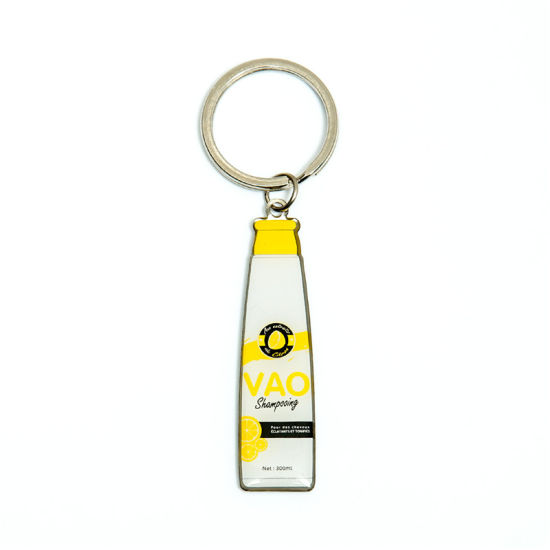 Customized Special Design Promotion Gift Key Ring Gifthouse Handbagin Wovenin Ribbon pictures & photos