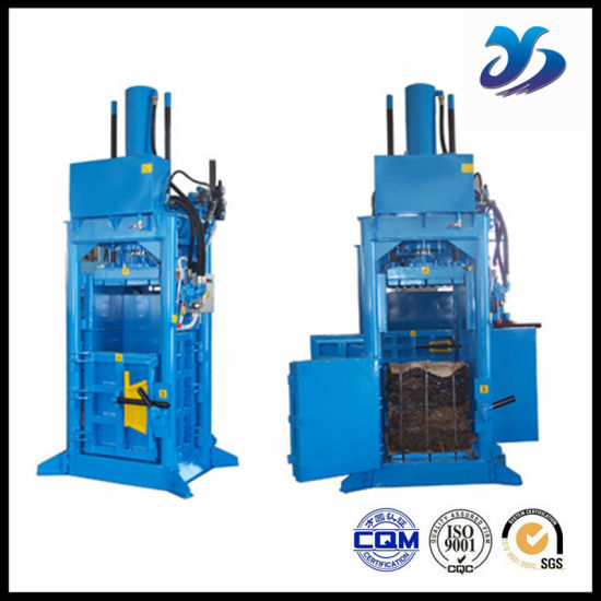 Hydraulic Plastic Baler/Used Clothes Baling Press Machine for Sale pictures & photos