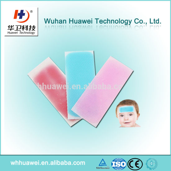 2017 New Arrival Baby Care Headache Pain Relief Fever Cooling Gel Patches