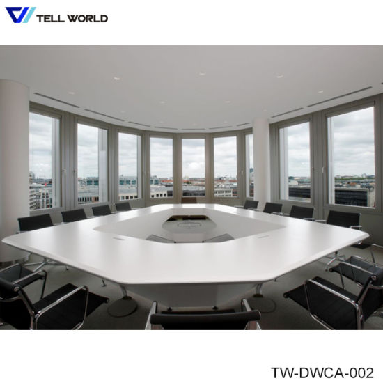 China Artificial Marble Stone Office Furniture Person Conference - 12 person conference table