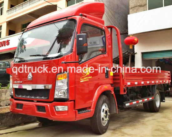 3-5 Tons General Cargo Truck, HOWO Light Truck pictures & photos