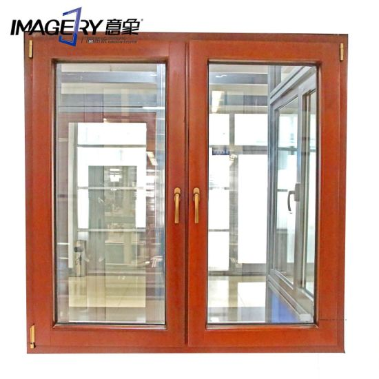 Yx86 New Technology, High Quality Aluminum Wood Composite Window