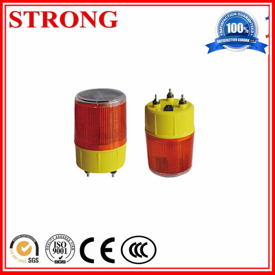 Red/Blue/Yellow LED Traffic Road Construction Solar Warning Light pictures & photos