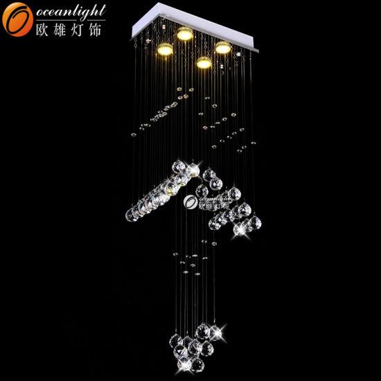 Cheap Crystal Chandeliers String Shade Pendant Lamp Decorative Pendant Light Om9156