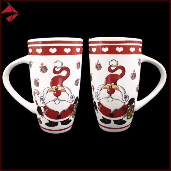 China Custom 15 Oz Ceramic Coffee Mugs