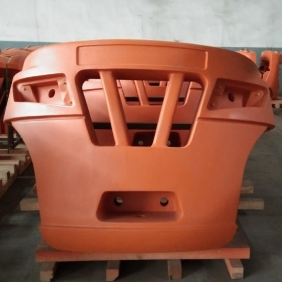 Vacuum Sand Grey Iron Die Casting Counterweight for Forklift / Excavator / Loader