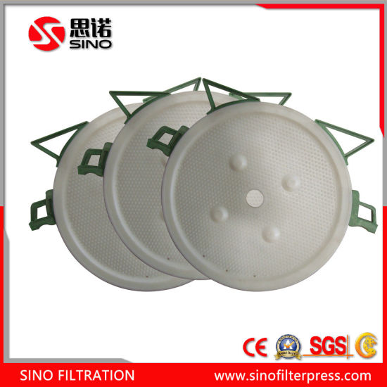 Hydraulic Chamber Plate Round Plate Type Filter Press for Ceramic Clay pictures & photos