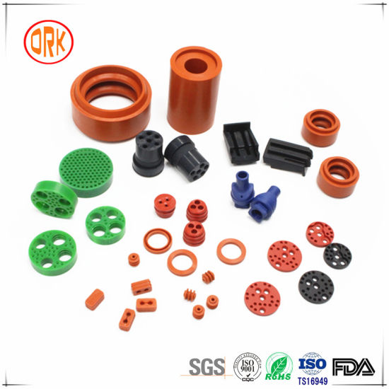 Colourful NBR Rubber Pneumatic Connector pictures & photos