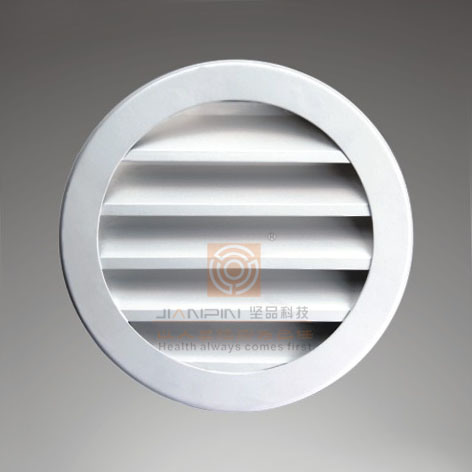 Ductwork Rectangular/Round Fixed Vanes Weater Louver Vent Grill for HVAC Units pictures & photos