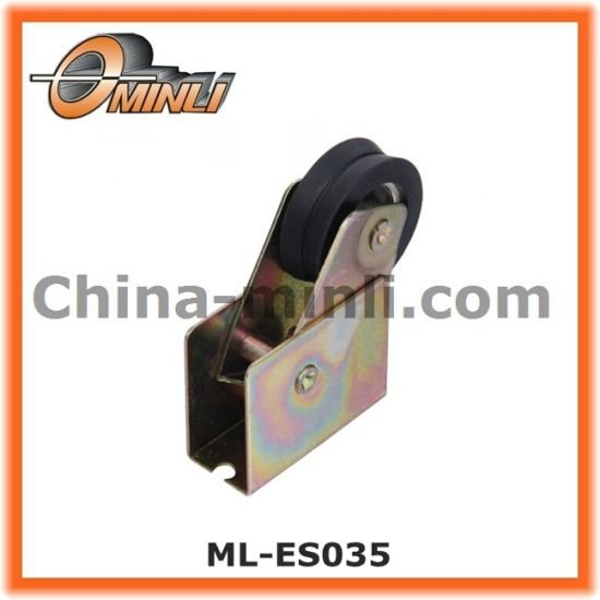 Steel Punching Pulley with Single Roller (ML-ES042) pictures & photos