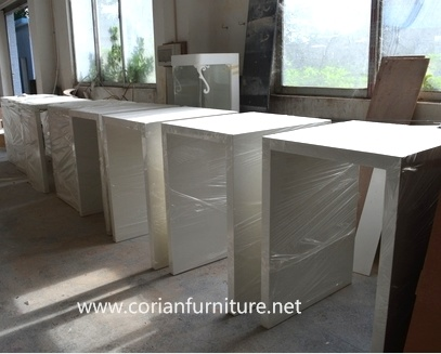 Solid Surface Corian High Bar Table for Restaurant Coffee Table pictures & photos
