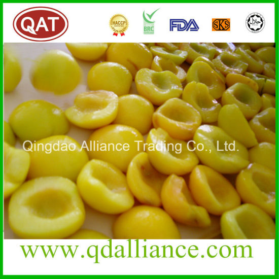 Frozen Yellow Peach Halves IQF Yellow Peach pictures & photos