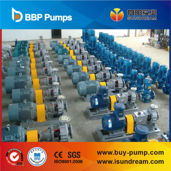 Cqb-F Electric Driven Fluoroplastic Magnetic Pump Corrosive Pump pictures & photos