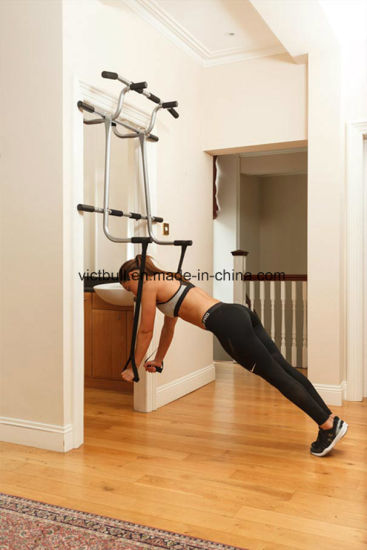 Muti Door Gym Equipment Pull Up Bar Chin For Fitness