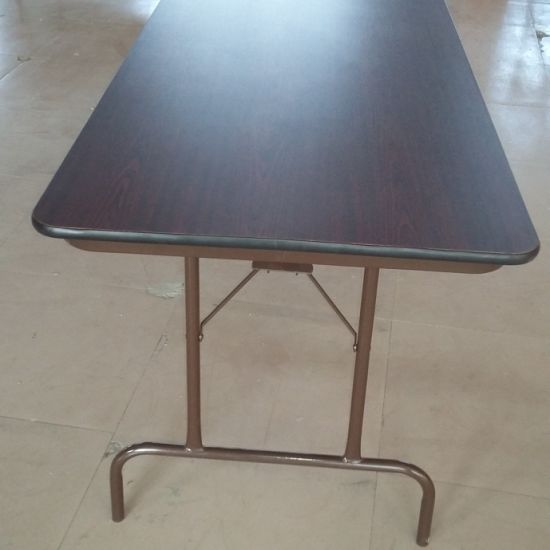 Cheap MDF Material Folding School Cafeteria Dining Tables Furniture pictures & photos