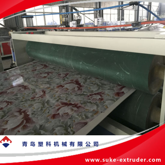 PE/PP/PVC Plastic Foam Sheet/Board Extrusion Production Line pictures & photos