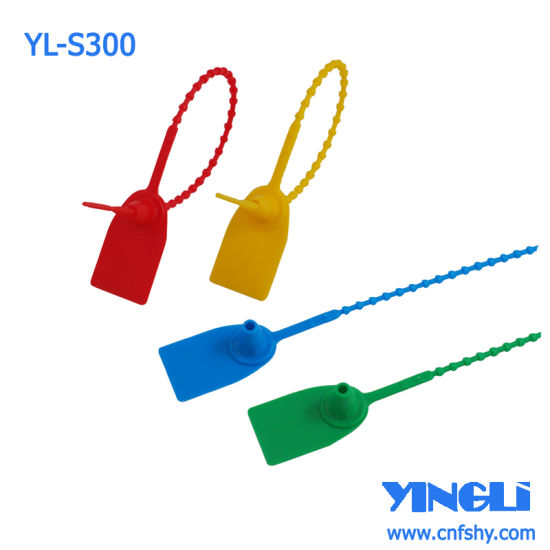 Tamper Evident Plastic Security Seal for Container (YL-S300) pictures & photos
