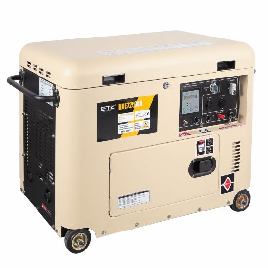 6.0kw Simple Operating Silent Diesel Generator pictures & photos