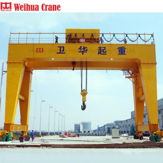 Weihua 100 Ton Double Girder Gantry Crane