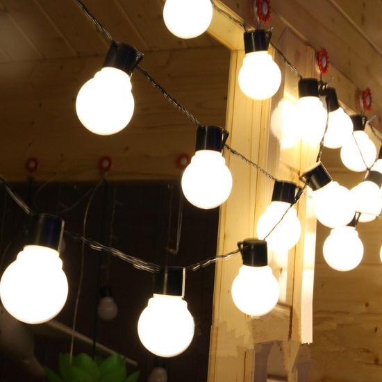 Led Globe Bulb String Lights