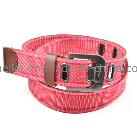 China Factory Wholesale New Design Men's Garment Fabric Belt