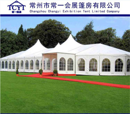 Roman Style Outdoor Big Tents for Events Cheap Party Wedding Tent & China Roman Style Outdoor Big Tents for Events Cheap Party Wedding ...