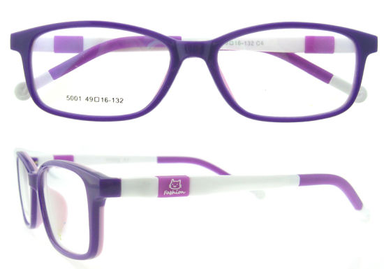 2016 New Fashion Custom Made Silca Gel Children Eyeglasses pictures & photos