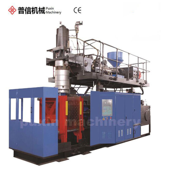 China Automatic HDPE Plastic Bottle Drum Barrel Tank Canister Container Extrusion Blow Molding Blowing Mold Moulding Making Machine