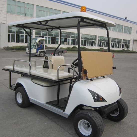 CE Approved 2 Seats Electric Ambulance Car (DVJH-2)