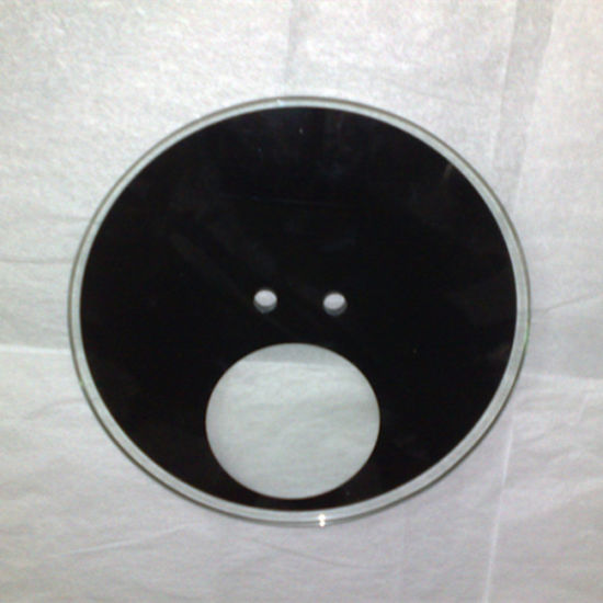 5mm Black Tempered Glass for Kitchen Wall