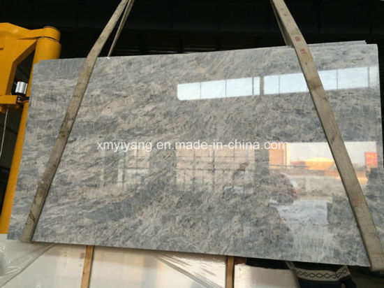 Vermont Grey Marble Stone Slabs For Wall, Table Top