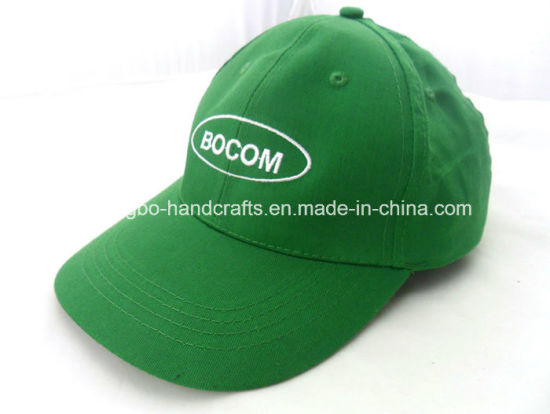 Fashion Blue Brushde Cotton Hats with Recycle Material pictures & photos