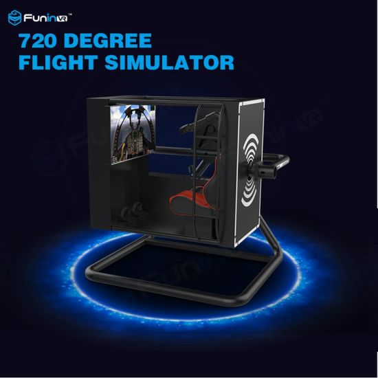 China Thrilling Entertainment Flight Simulator Cockpit for Sale, 720