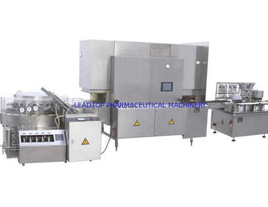 Liquid Bottle Filling Machine Line with Oral Liquid Bottle Ultrasonic Washing