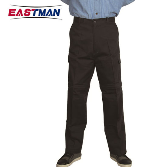 Multi function Water Repellent Work Pants with Shorts