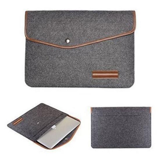 Fashion Felt Bag Sleeve Pouch Laptop Bag Sleeve Handbags (FLB008)