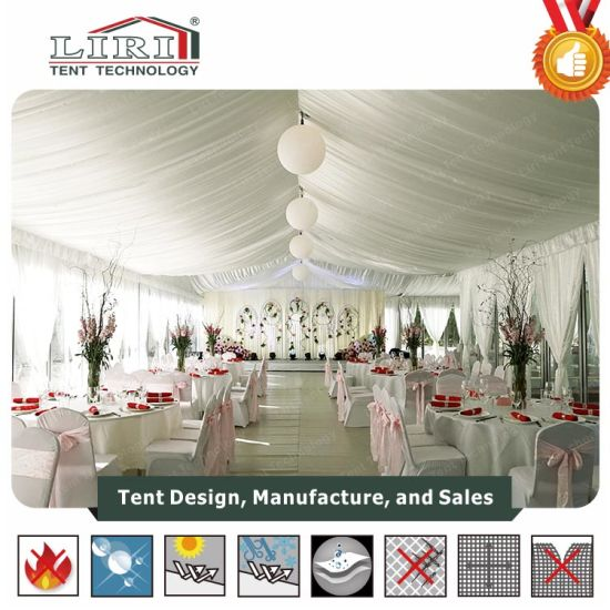 China Wedding Tent With Decorations For Outdoor Wedding Event