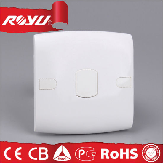3*3 Size PC Plastic Material Blank White Cover for Wall