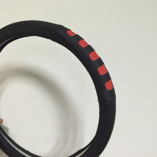 PVC with PU Steering Wheel Cover (BT7335) pictures & photos