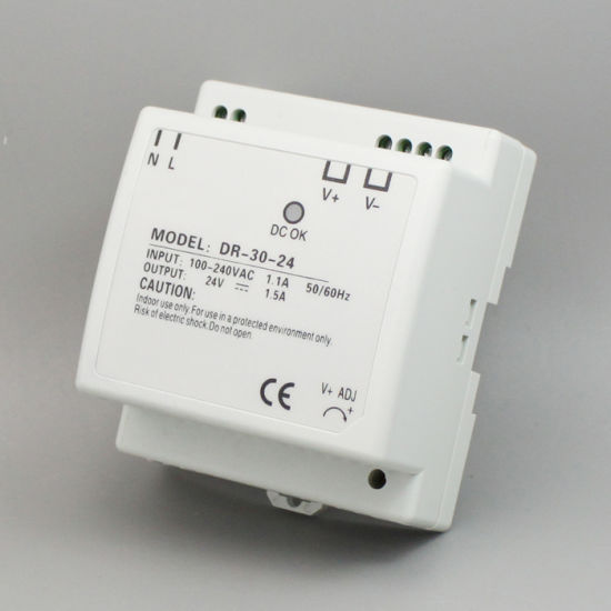 Dr-30 30W DIN Rail Switching Power Supply pictures & photos