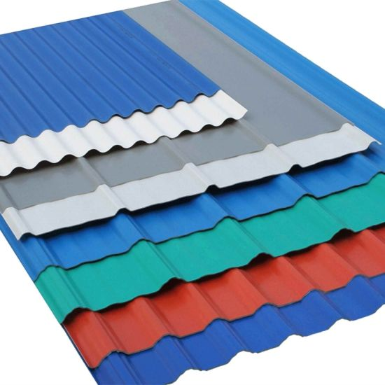 Cheap Building Materials Metal Plate Colour Corrugated Roofing Sheets To  Philippines