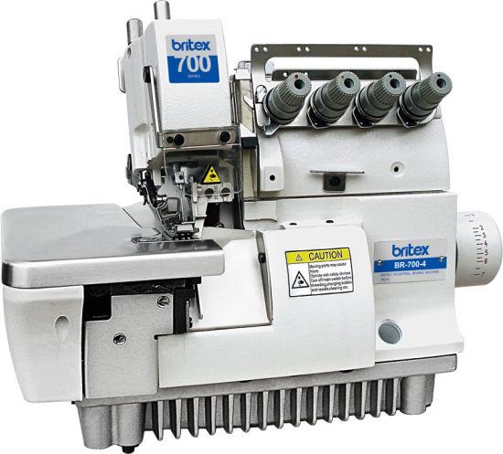 Br-700-4/4h Super High Speed Five Thread Wide Neelde Gage Overlock Machine